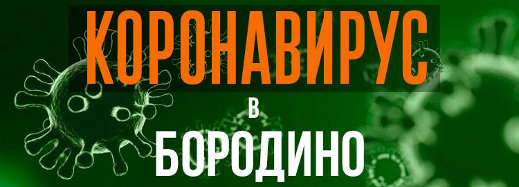 Коронавирус в Бородино