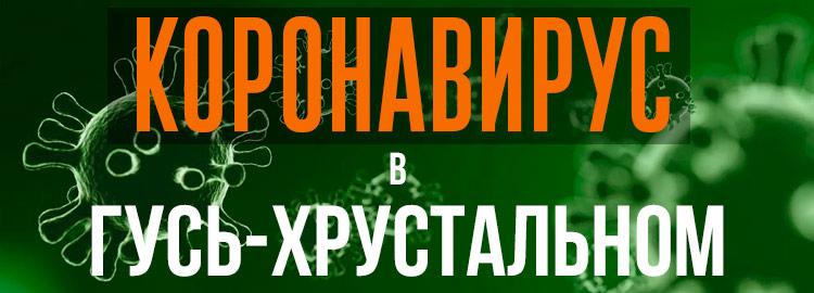 Коронавирус в Гусь-Хрустальном
