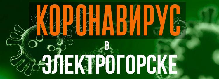 Коронавирус в Электрогорске