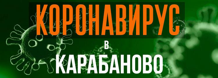 Коронавирус в Карабаново