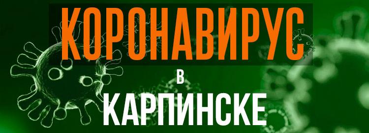 Коронавирус в Карпинске