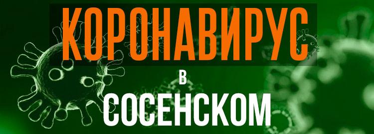 Коронавирус в Сосенском