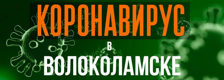 Коронавирус в Волоколамске