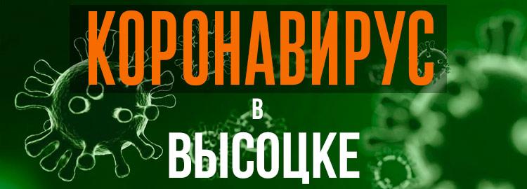 Коронавирус в Высоцке